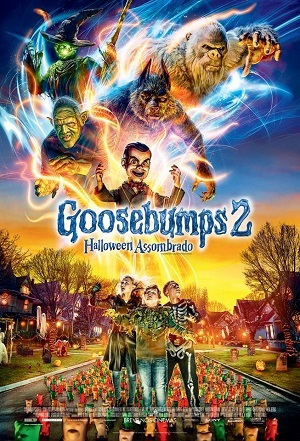 Goosebumps 2 - Halloween Assombrado 1920x1080 Baixar torrent download capa