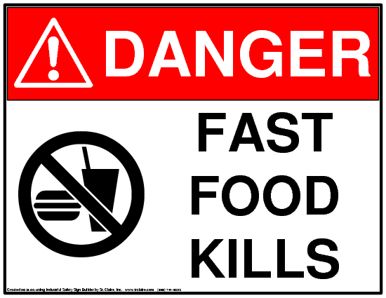 fast food and the dangers of it in america The american problem: a look at the dangers of fast food in saudi arabia - in  the 1940's the united states brought on wave of globalization that ravaged.