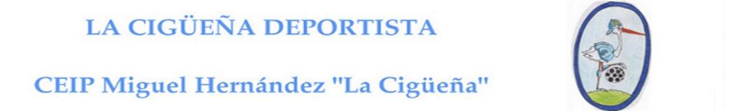 CIGÜEÑA DEPORTISTA