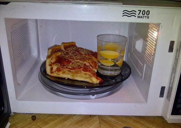 Truco para recalentar la pizza y hacer que siga crocante