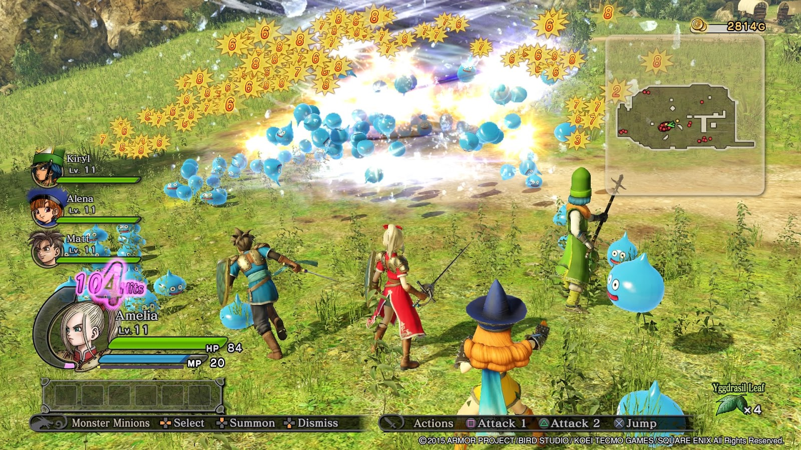 Review Dragon Quest Heroes The World Trees Woe and the Blight
