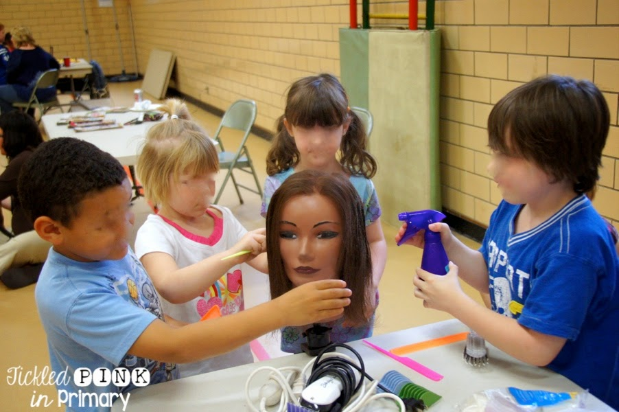 Kindergarten Career Day - Hairdressing Unit