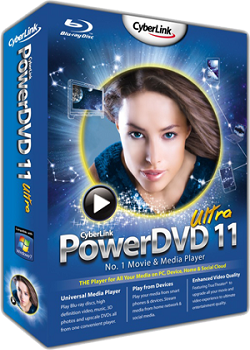 1 Download   CyberLink PowerDVD v11.0.1620.51 Ultra