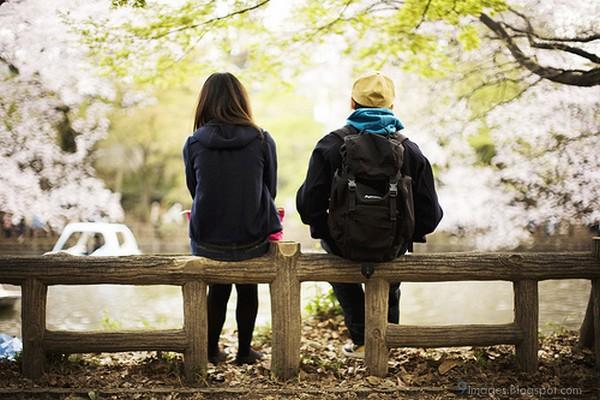 Sad cute couple beautiful place - Beautiful sad couple images ...