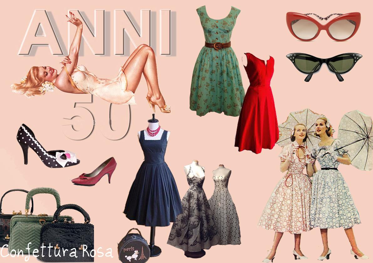 Ilclanmariapia moda anni 39 50 for Accessori moda anni 50