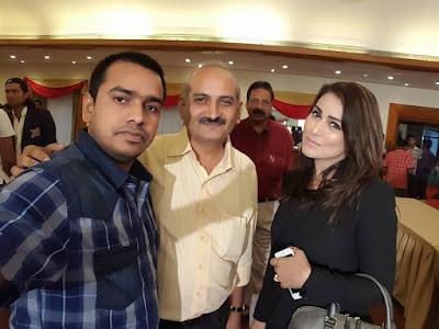 Pakhi Hegde at Bhojpuri Dabanggs (CCL 6) Cricket Team 2016 Photos