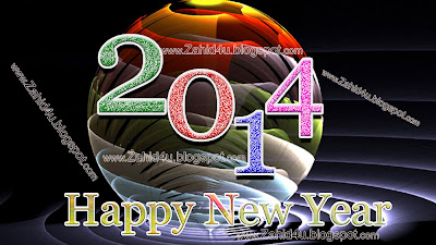 4pocket ball 3d wallpaperscopyg happy new year 2014 wallpaper 2014 hd pictures voltagebd Image collections