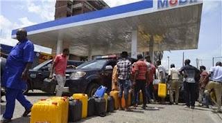 Major fuel crisis in Nigeria 2015
