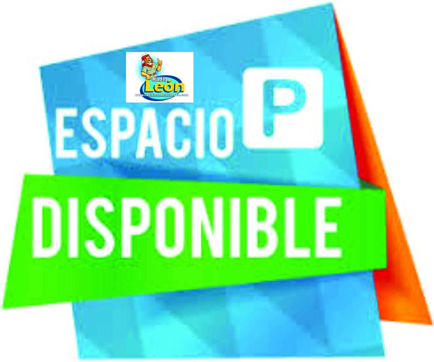 ESPACIO PUBLICITARIO DISPONIBLE