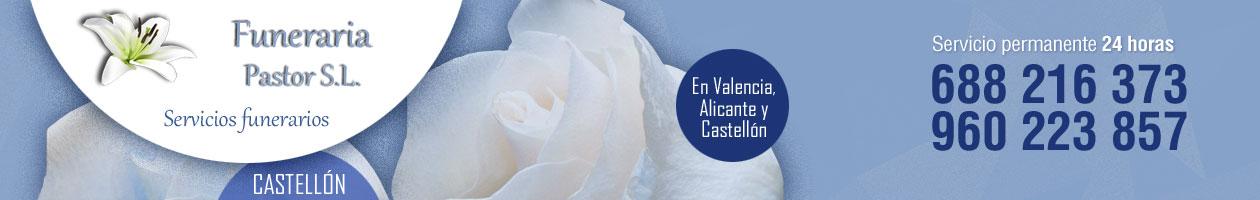 Funeraria Castellón | SERVICIO POR 1150€ | 688 21 63 73