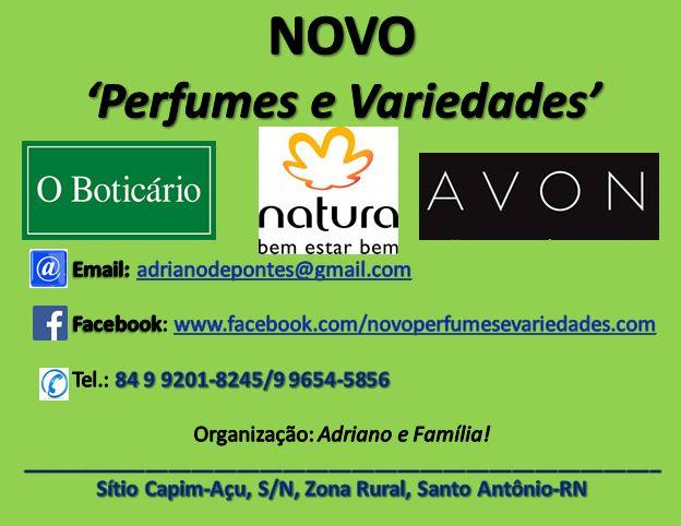 NOVO Perfumes e Variedades