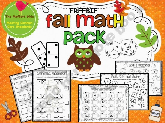 http://www.teacherspayteachers.com/Product/Fall-Math-Pack-FREEBIE-326666