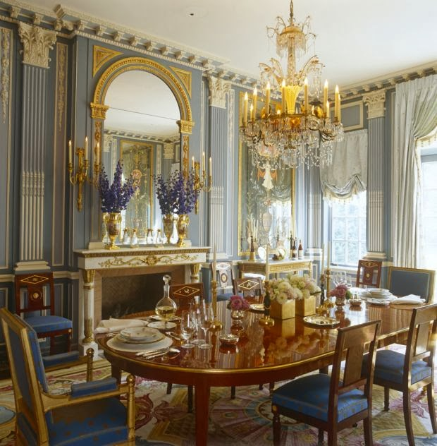 A Long Island Dining Room From LUMINOUS INTERIORS.