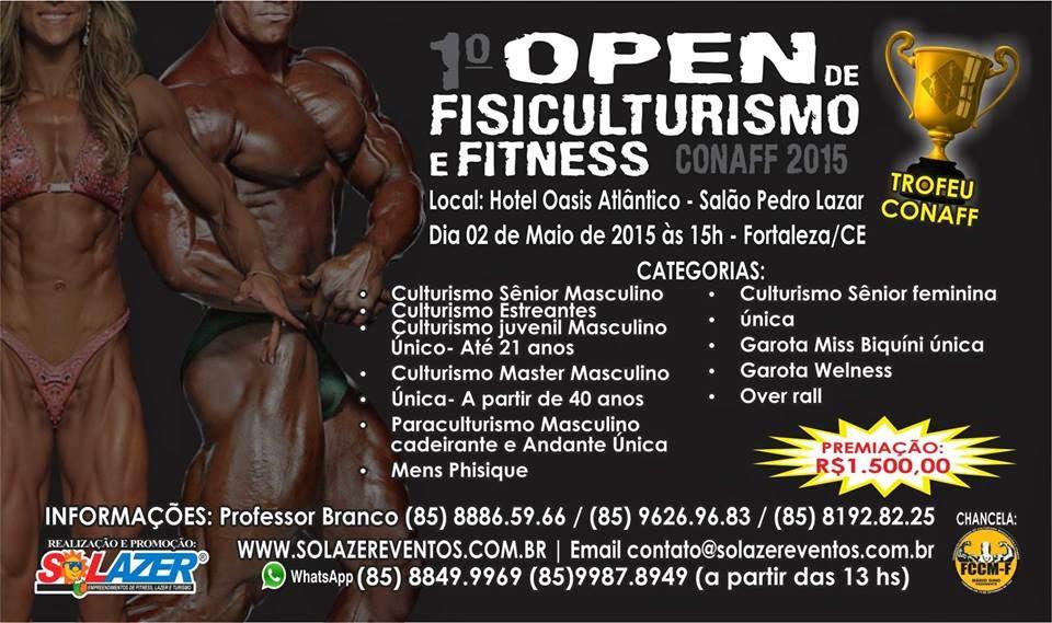1º Open de Fisioculturismo e Fitness