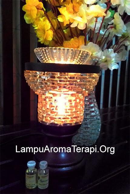 lampu hias aroma terapi