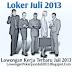 Lowongan Kerja Di Bank, Keuangan Juli 2013