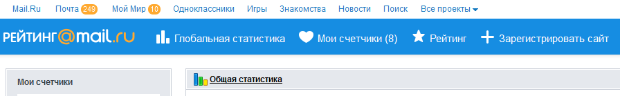 Рейтинг Mail.ru