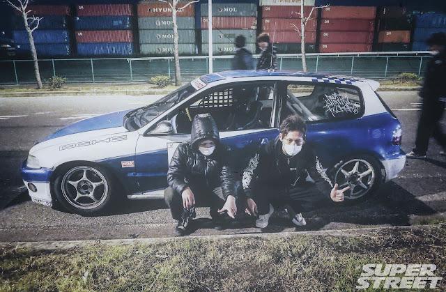 Honda Civic, Kanjo, nielegalne wyścigi, Japonia, 環状族