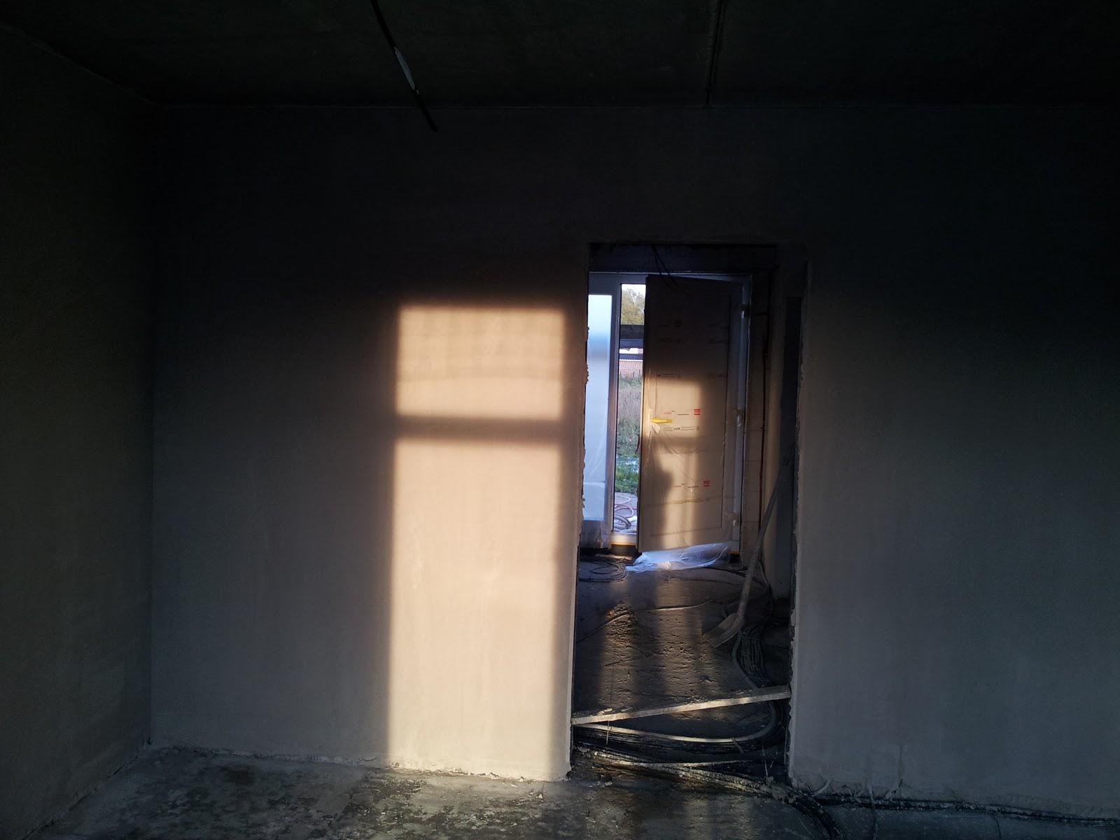 hausbau in adendorf bei l neburg mit claassen haus town country beginn innenputz. Black Bedroom Furniture Sets. Home Design Ideas