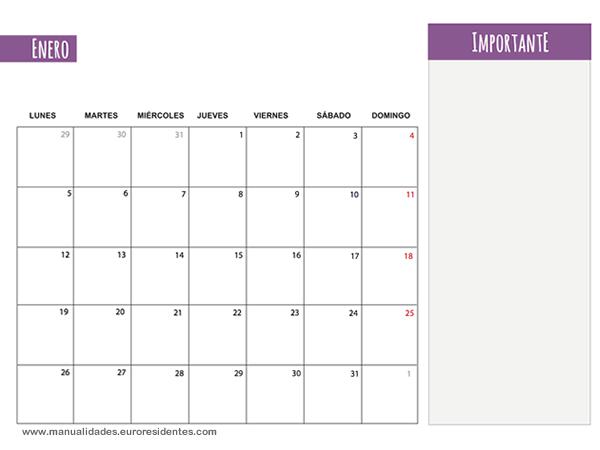 Enero 2015 Calendario | New Calendar Template Site