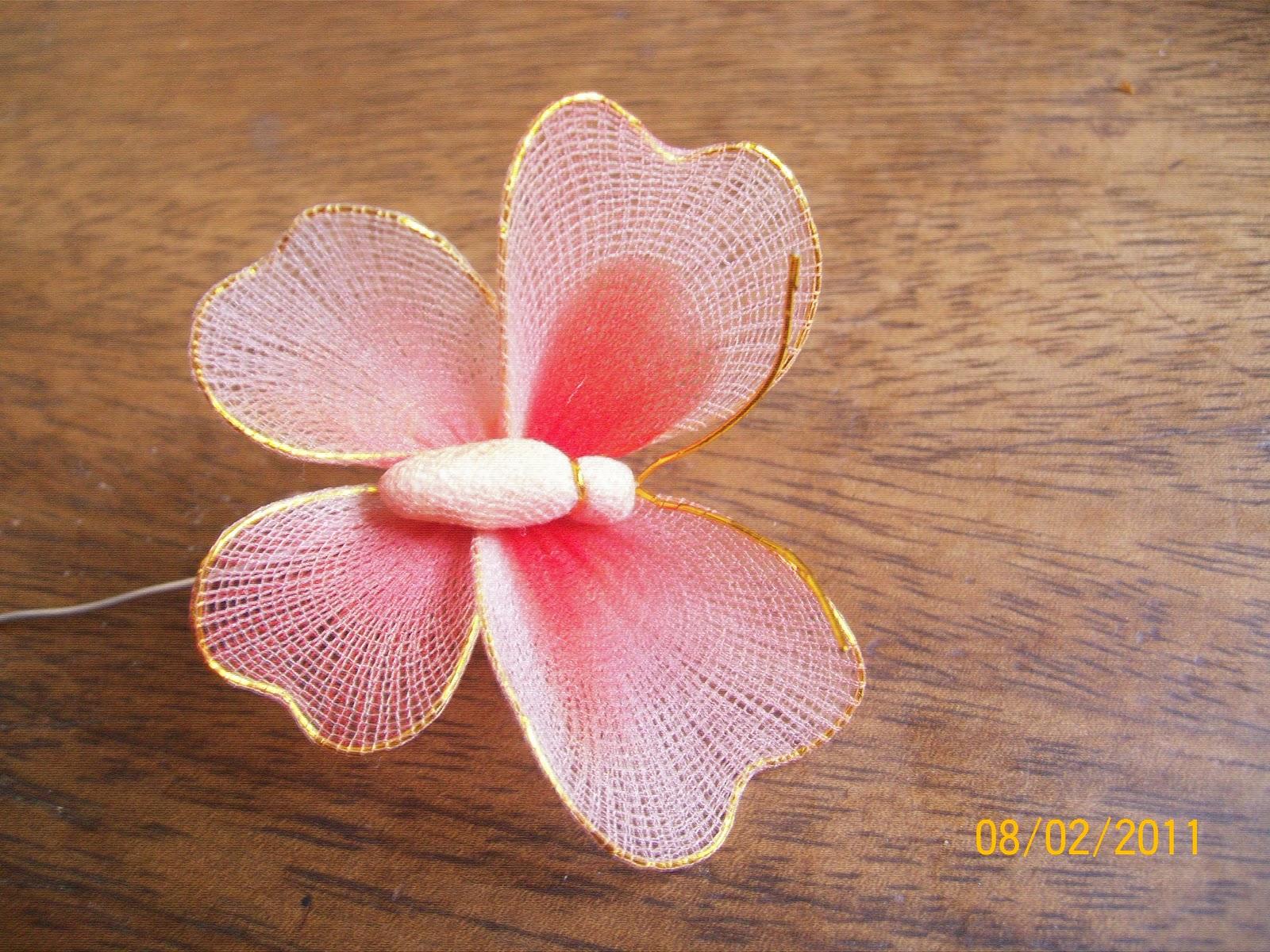 Making Antennae For Nylon Butterfly 11