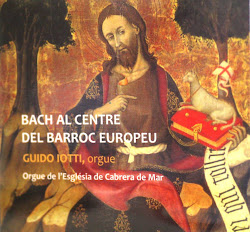 """""""CD"""" enregistrat en el Orgue de L'Esglèsia."""