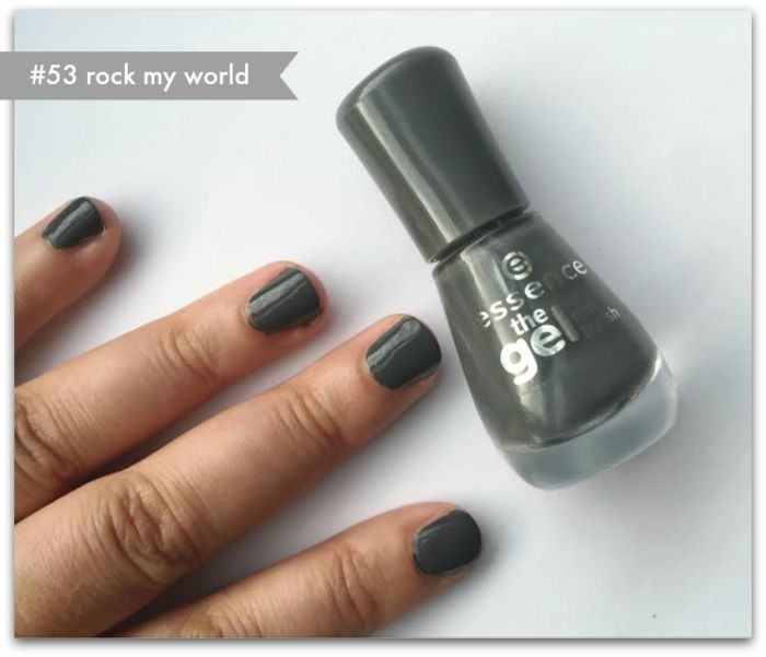 Essence Gel Nail Polishes