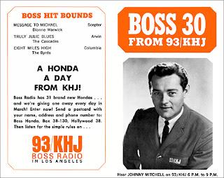 KHJ Boss 30 No. 37 - Johnny Mitchell