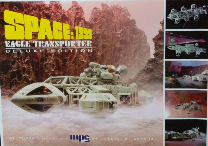1/72 space 1999 eagle transporter deluxe edition