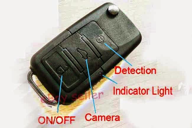 Kamera Remote Mobil Sensor Gerak 5MP
