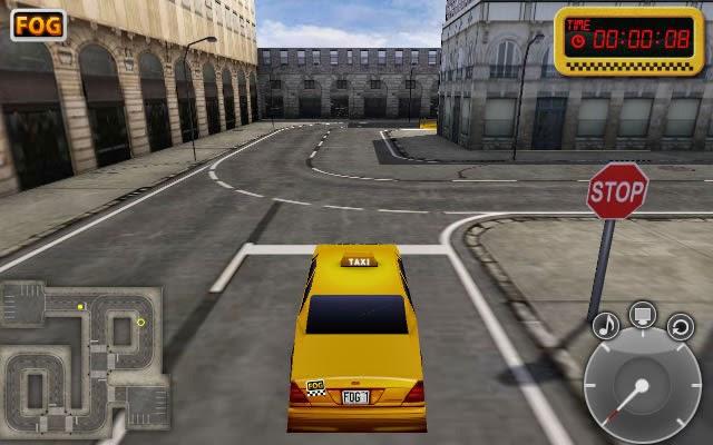 لعبة تاكسي المدينة