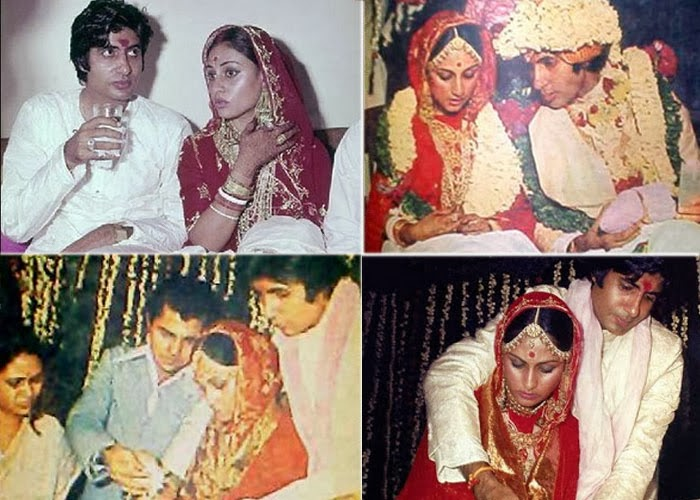 amitabh bachchan wedding pics amitabh and jaya weddding picsAmitabh Bachchan Marriage Photos