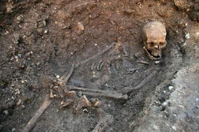 BRITAIN KING RICHARD III BONES