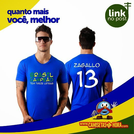 Camiseta-Zagallo