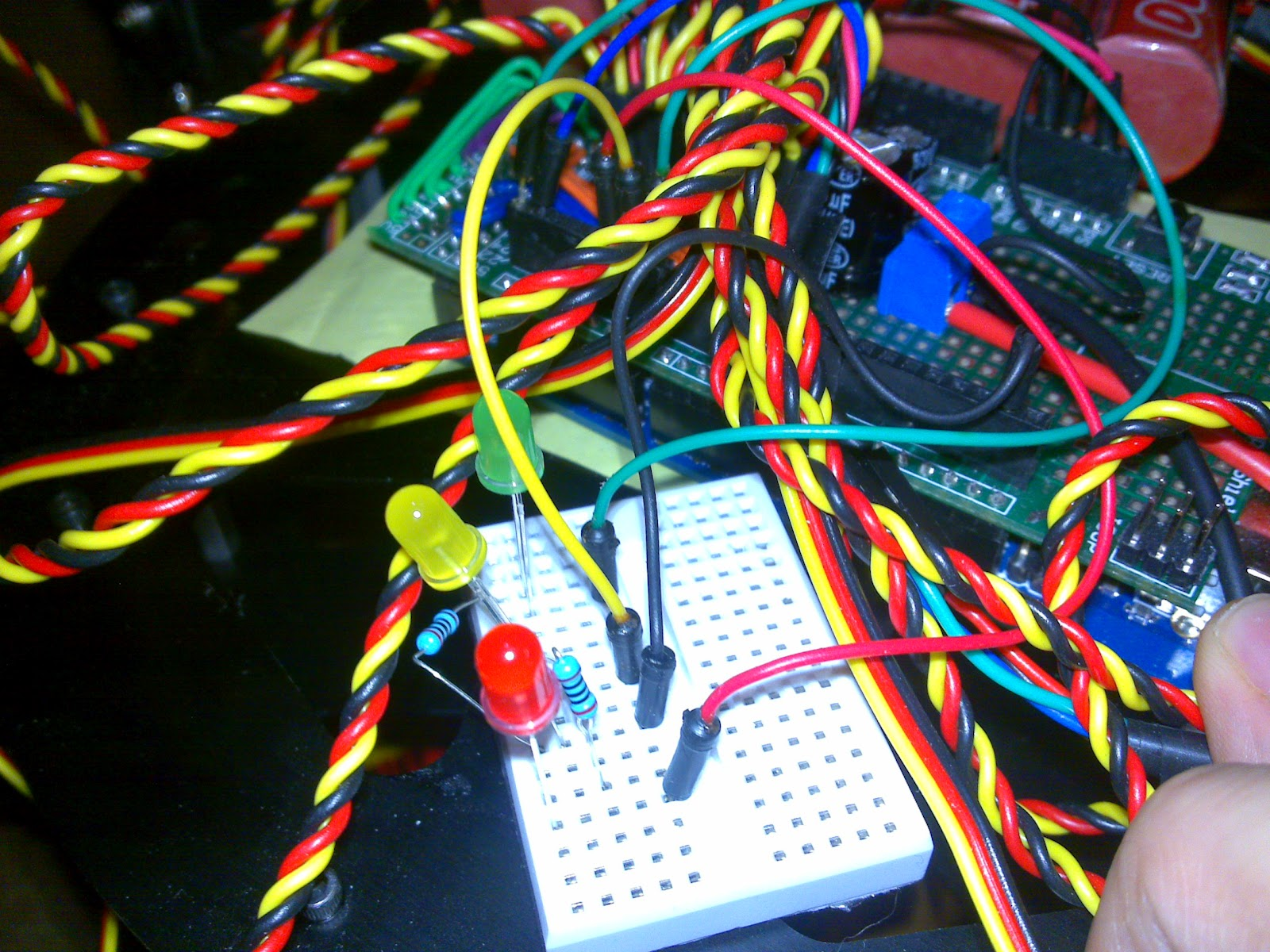 Arduino hexapod robot ik algorithm and source code