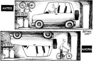 Utiliza la cabeza y la bici siempre que puedas