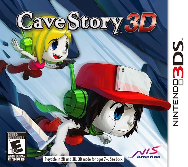 3DS Cave Story 3D Cover