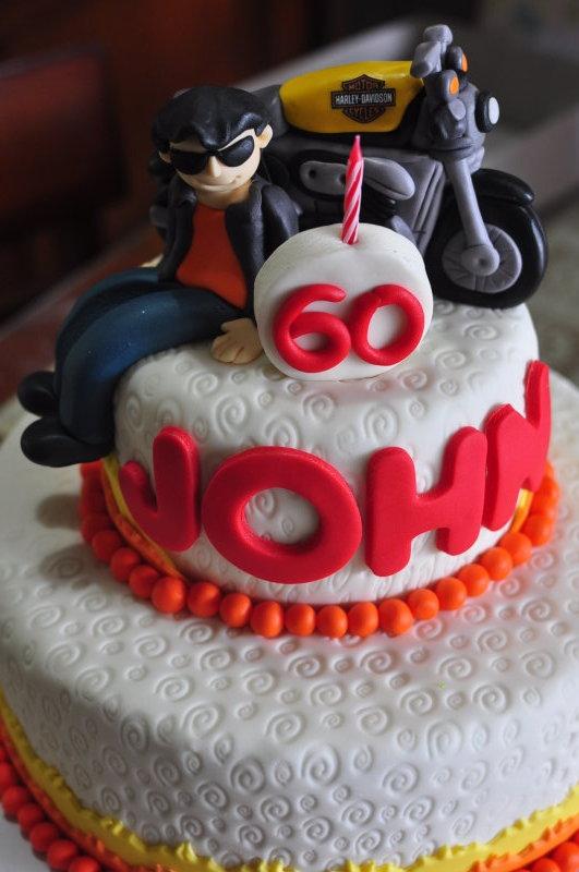 emily bakes cakes Johns Motorcycle Birthday Cake