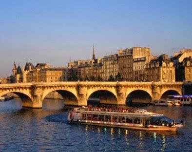 Parigi crociera sulla Senna