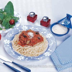 Spaghetti With Lamb And Vegetables Recipe