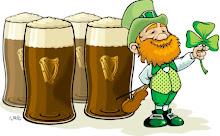 Guinness and a Leprechaun