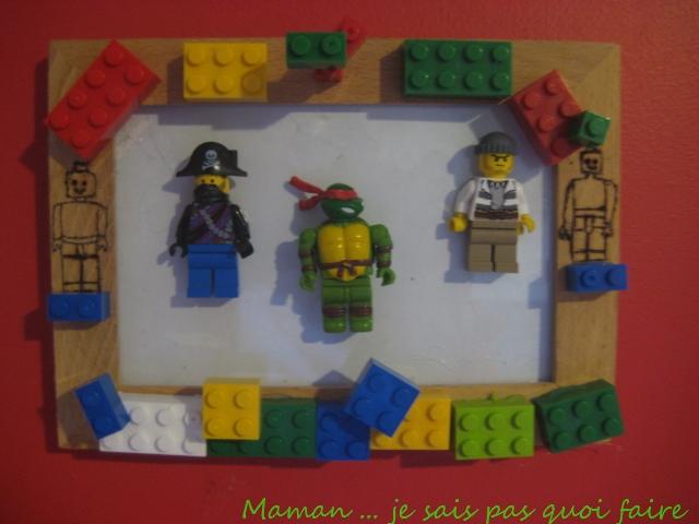 Célèbre Maman.je sais pas quoi faire ! ! ! : Cadre Lego RP23