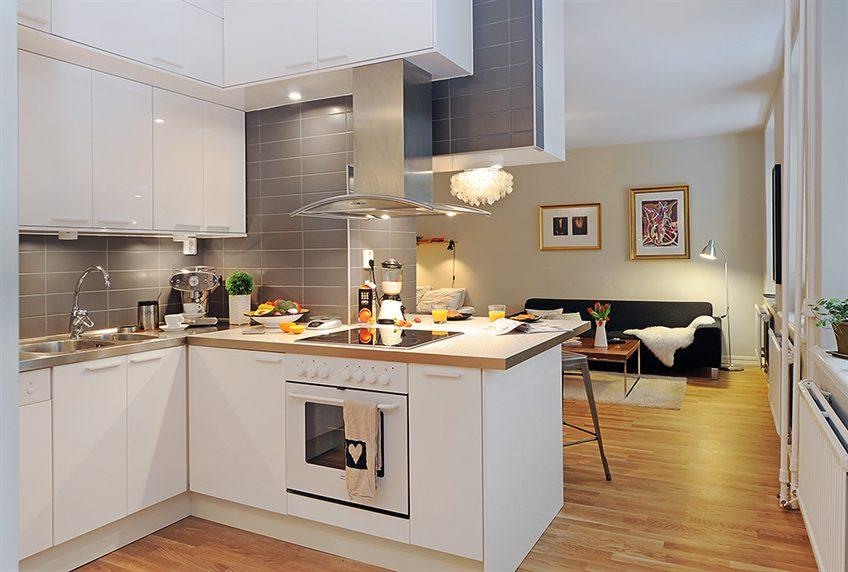 Meble do kuchni projekty kuchni -> Kuchnia Z Salonem Umeblowanie