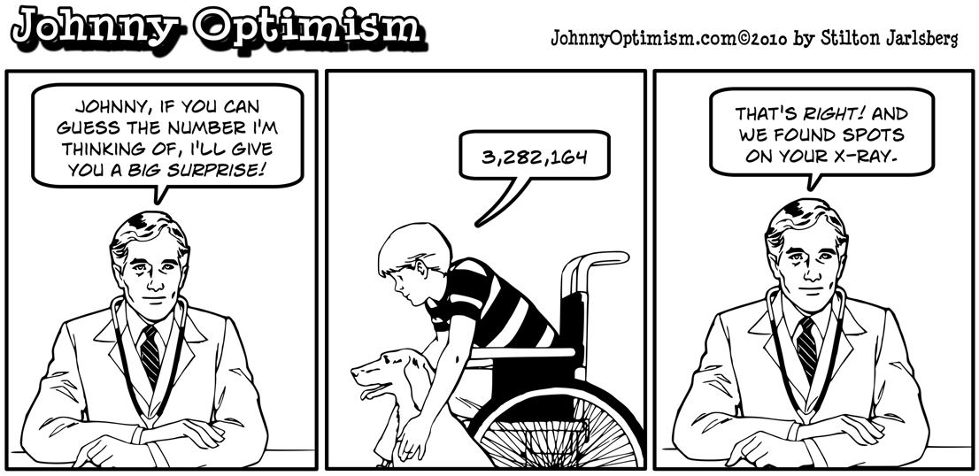 Johnny Optimism, johnnyoptimism, doctor