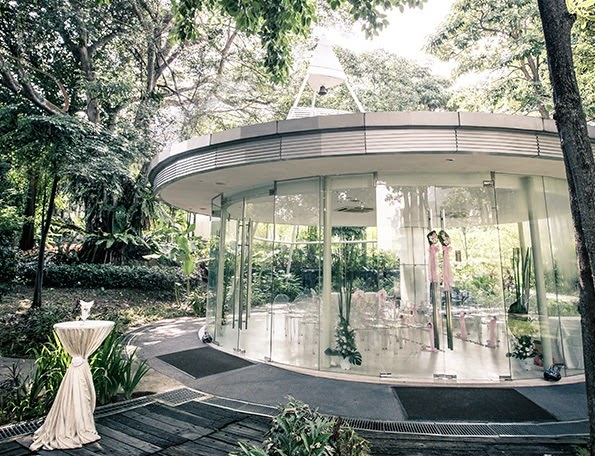 Amara Sanctuary Glass Pavilion Weddings