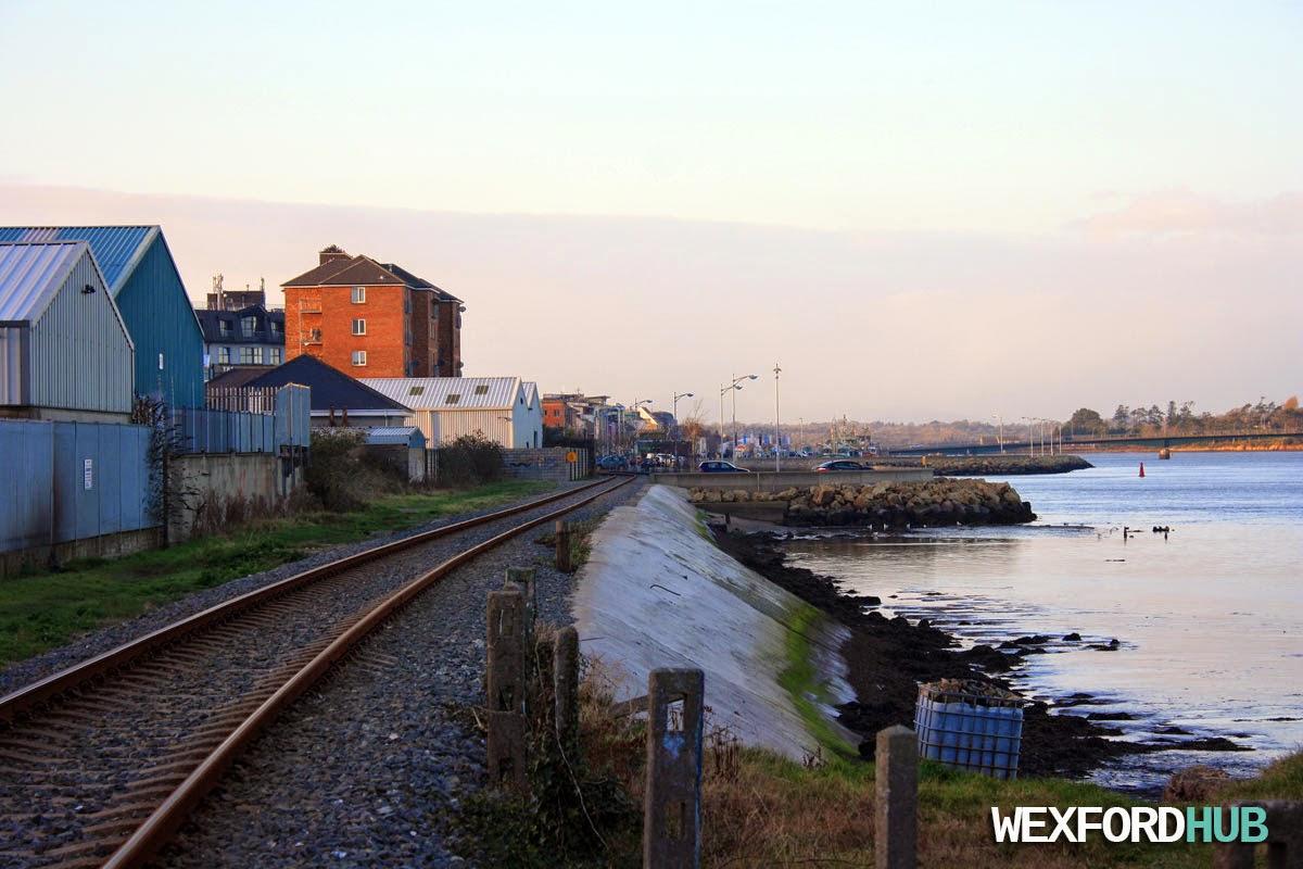 Railway line, Wexford