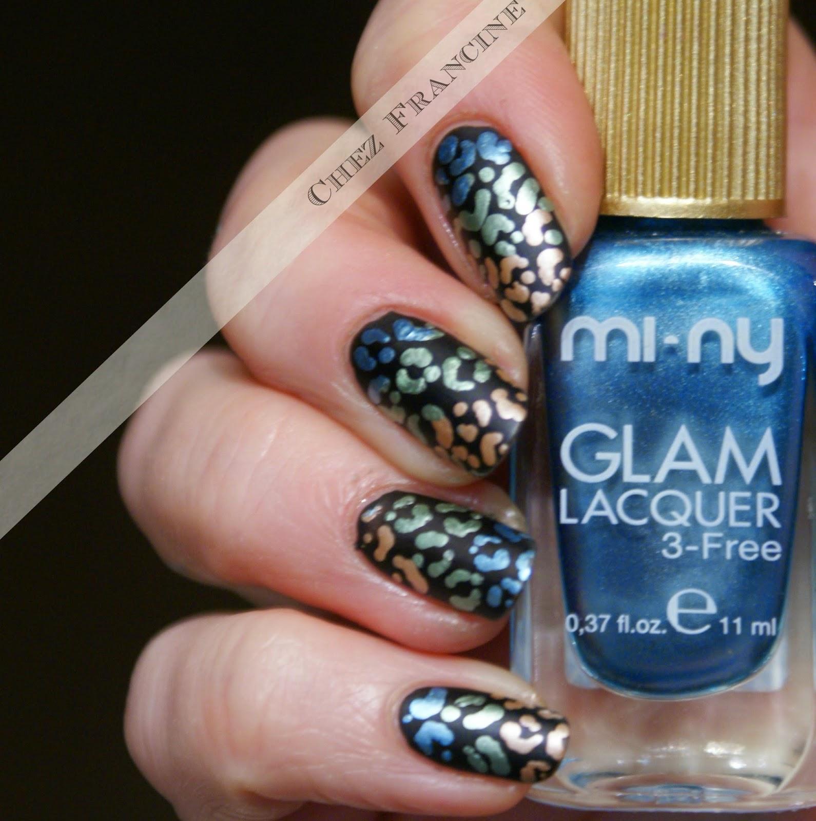 Chez Francine: Metal Leopard for Mi-Ny Cosmetics