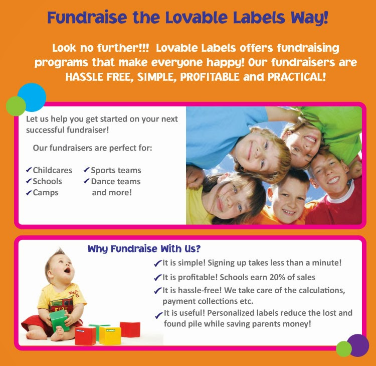 lovable labels fundraising