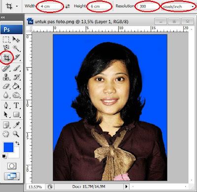 Cara Membuat Pas Foto Sendiri Dan Murah Di Photoshop