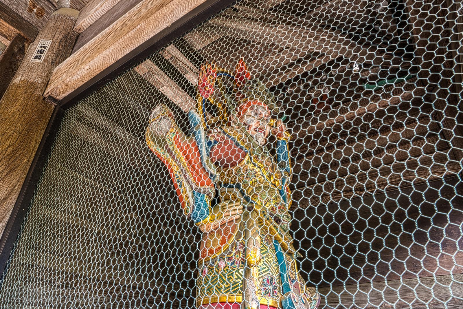 天寧寺、増長天の写真